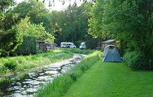 1.Bij Nederlands kleinste stadje: Camping 't Meulenbrugge