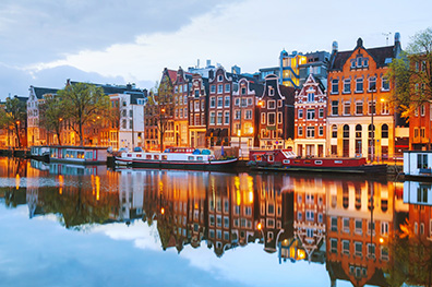 Top 4 hotels in Amsterdam
