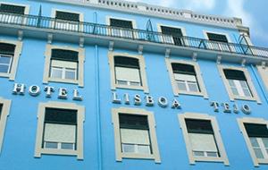 Hotel Lisboa Tejo ligt centraal