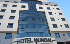 Het luxe Hotel Mundial