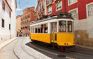 De gele tram 28