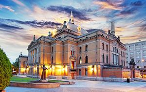 De hoofdstad Oslo