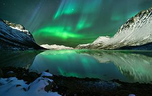 Tromsø in het Poollandschap