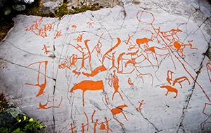 Rotstekeningen in Alta