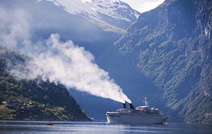 Een tocht met de Hurtigruten