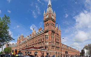 2. St. Pancras International in Londen
