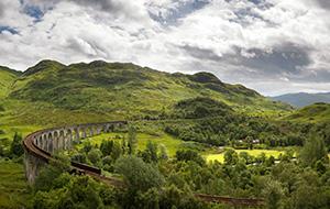 Dender langs de Schotse westkust
