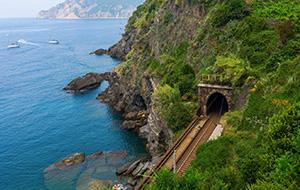Geniet van de Italiaanse kustroute