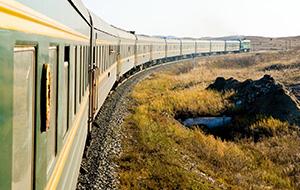 De bekende Trans Siberië Express