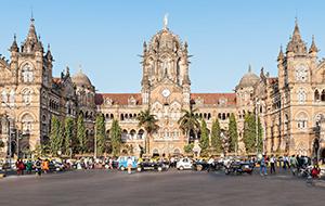 5. Chhatrapati Shivaji Terminus in Mumbai