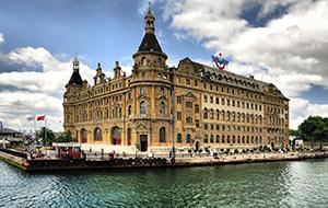 4. Haydarpaşa Station in Istanbul