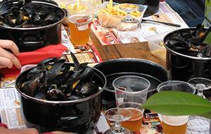 Wat te eten tijdens de brocantemarkt