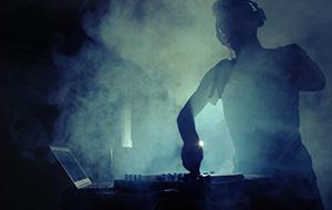 Muziekfestivals en dj's