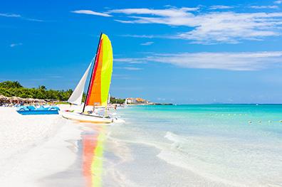 De witte stranden van Varadero