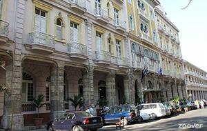 Hotel Mercure Sevilla Havane ligt centraal