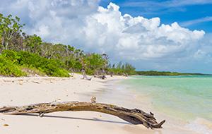 Het bounty-eiland Cayo Coco