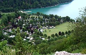 Luxe kamperen op Camping Domaine de Chalain