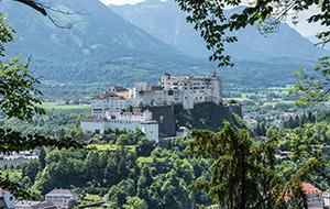 Het hoogste punt van Salzburg