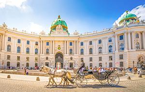 De Hofburg in Wenen