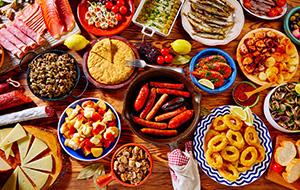 Tapas, paella en meer