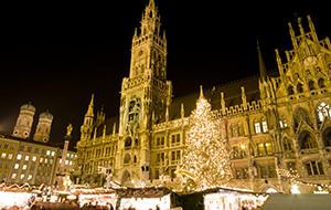 Kerstmarkt München bezoeken
