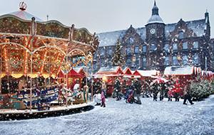 Kerstmarkt in Düsseldorf bezoeken