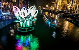 Winterfestival in Amsterdam