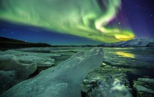 Aurora Borealis (noorderlicht) in IJsland