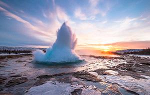 De gouden driehoek van IJsland