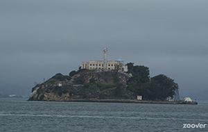 De gevangenis op Alcatraz Island