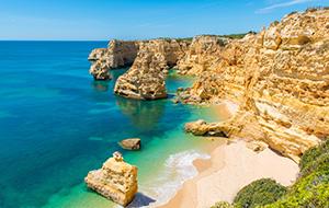 De stranden Algarve