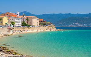 Het rustige Corsica