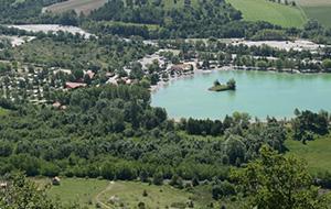 Les Rives du Lac, tussen de natuur