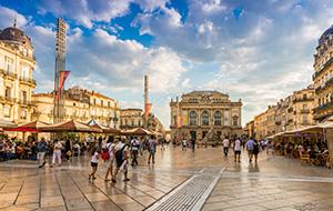 Het gezellige Montpellier