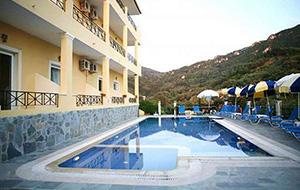 Fijne kamers: Hotel Alonakia