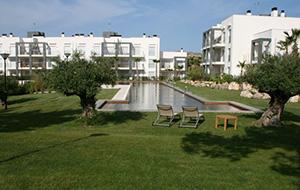 Met golfbaan: Aparthotel Oasis Plantío Golf
