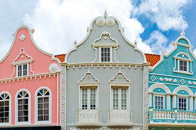 Monumentaal en hip Oranjestad