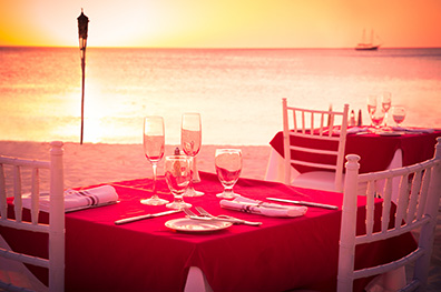 5x eten en drinken op Aruba