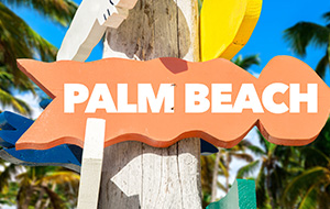 Watersport en levendigheid op Palm Beach