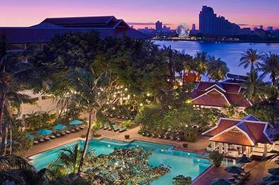Top 3 hotels in Bangkok