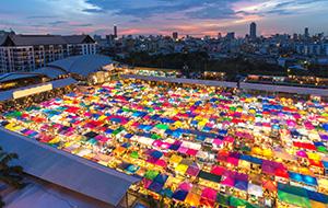 De kleurrijke Chatuchak Market