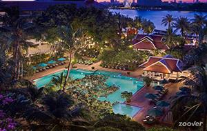 Genieten in Hotel Anantara Bangkok Riverside Resort & Spa