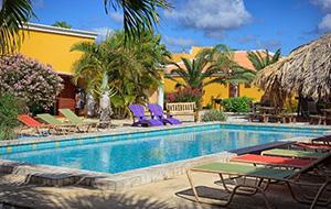 De perfecte ligging: Appartement Djambo Bonaire
