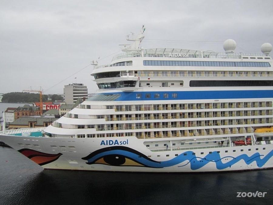 (Cruise)schip Aidasol – Canarische Eilanden