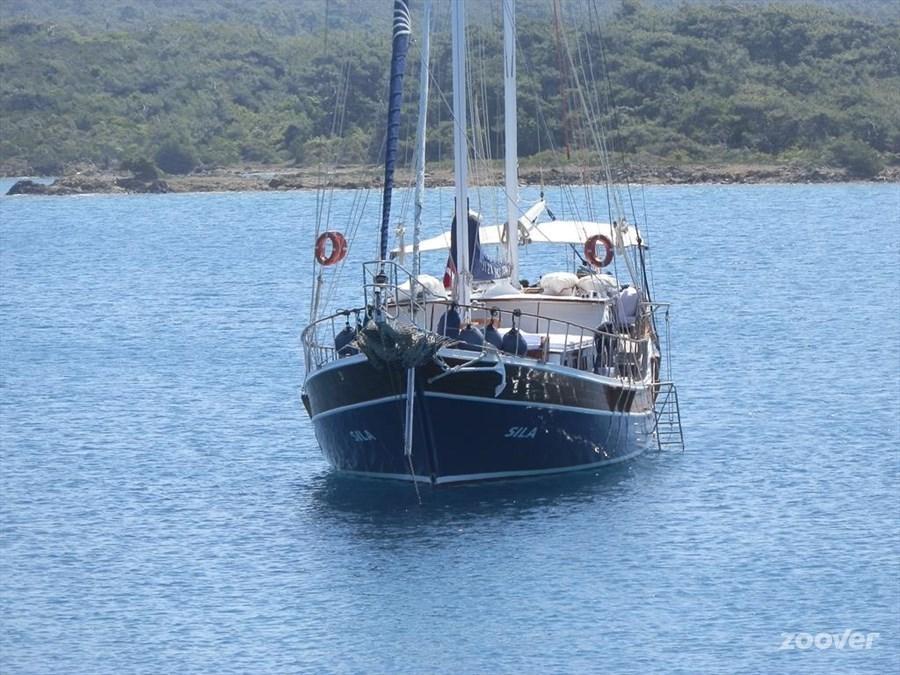 (Cruise)schip M/S Sila – Cycladen