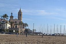 De stranden van Sitges