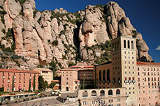 Het klooster van Montserrat: Monestir de Montserrat