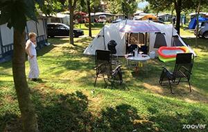 Schaduwrijke plekken op Camping Lido Toce