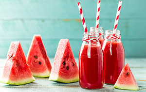 Watermeloen-drankje