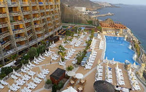 Met prachtig uitzicht: Hotel Gloria Palace Amadores